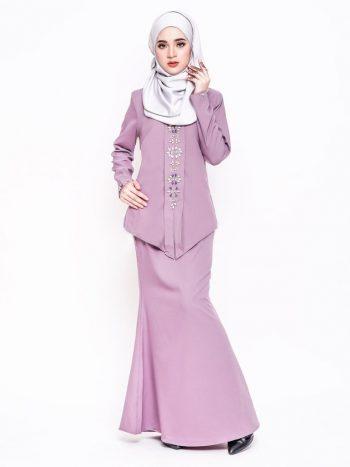 kebaya purple alyah