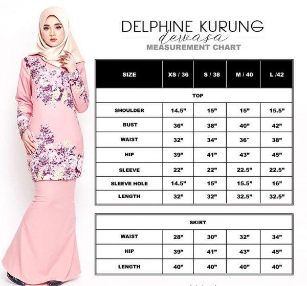 delphine size